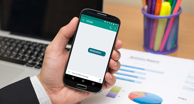 Invite Customers to Start Conversations with SMS Messages and Keywords