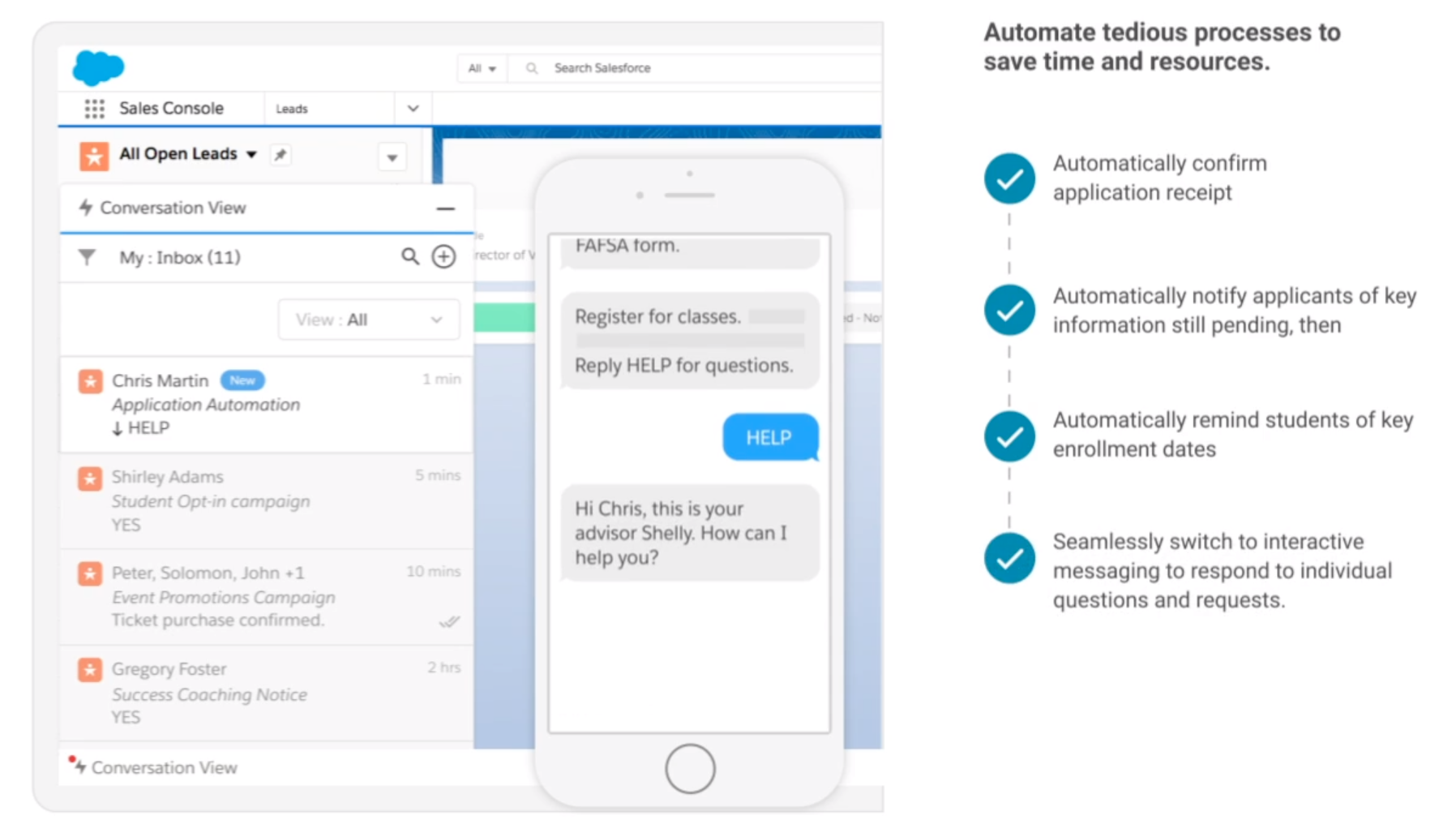 Automating Enrollment to Save Time and Resources
